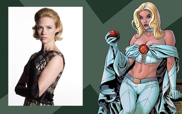January Jones parla di Emma Frost in X-Men: First Class